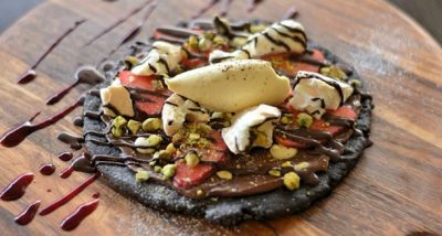 Capital chocolate pizza