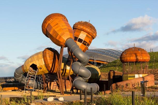 National Aboretum Pod Playground Canberra