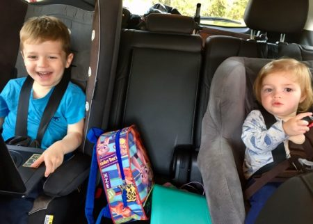 Five tips on surviving a car journey with kids