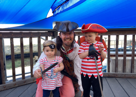 Swashbuckling fun for all at AQWA