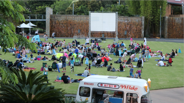 Roma Street Parkland Outdoor Cinema