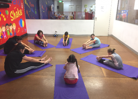 Yoga fun at Decorati Kids