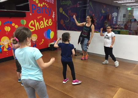 We loved Zumba at Decorati Kids