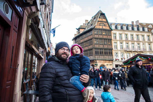 Strasbourg France Christmas Markets