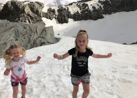 Exploring Fox Glacier with kids