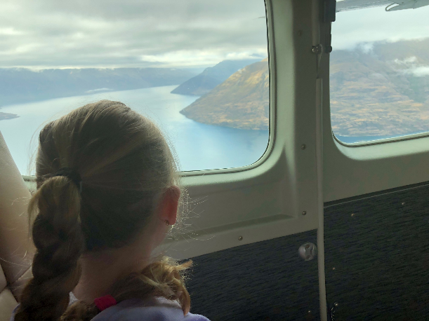 Milford Sound with kids