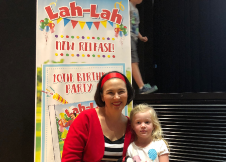 If you haven't seen Lah Lah live – do it now!