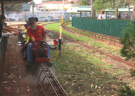 Stirling Miniature Railway is a tootin' good time