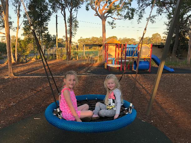 Playground in Blaxland