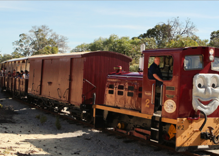 Take the tribe to Ashley and Friends steam trains