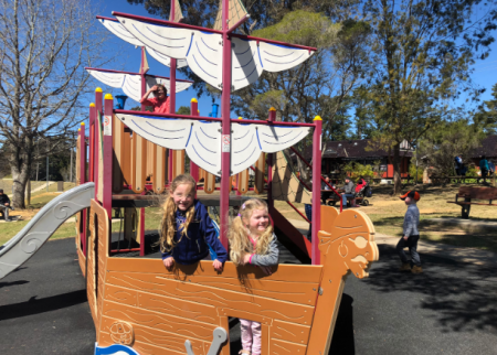 Tribes Ahoy! Wentworth Falls Lake Playground