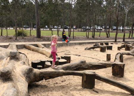 Picnic and play at Lizard Log Park