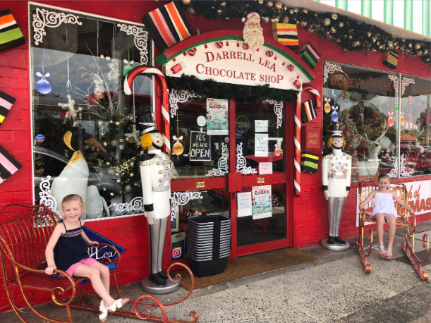 A dash of Christmas in Long Jetty