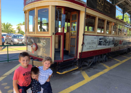Visit the vintage talking tram in Bendigo