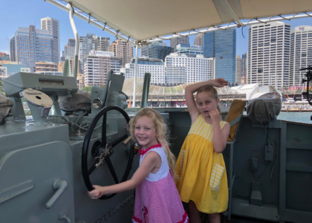 Nautical fun at the Australian National Maritime Museum