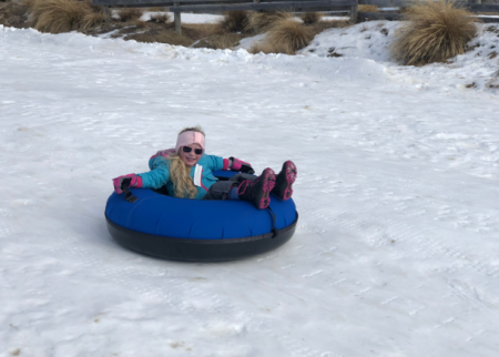 Tubing fun at Snow Farm New Zealand